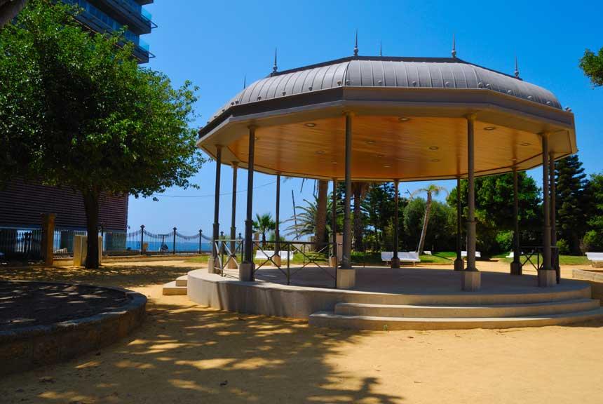 parque Genoves en Cadiz