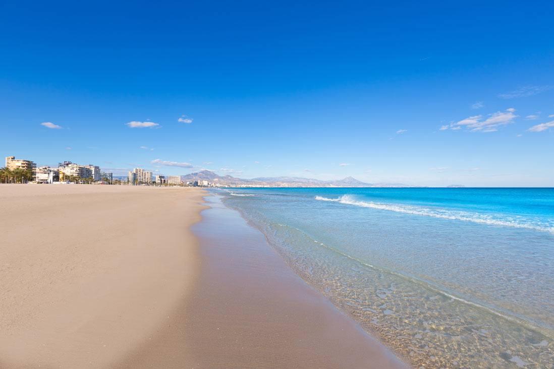 San Juan Beach Alicante Kasa25 Best Beaches