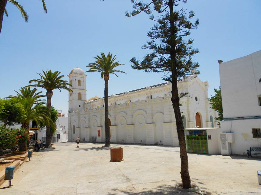 Plaza de Santa Catalina en Conil de la Frontera