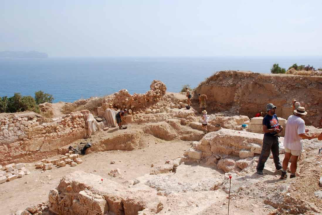 Imprescindibles de Calpe ruinas de la pobla de ifach en Calpe