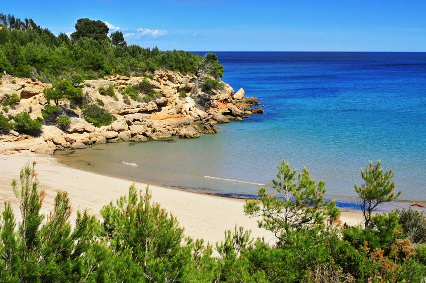 Cala Forn Ametlla De Mar Guide Of Beaches And General