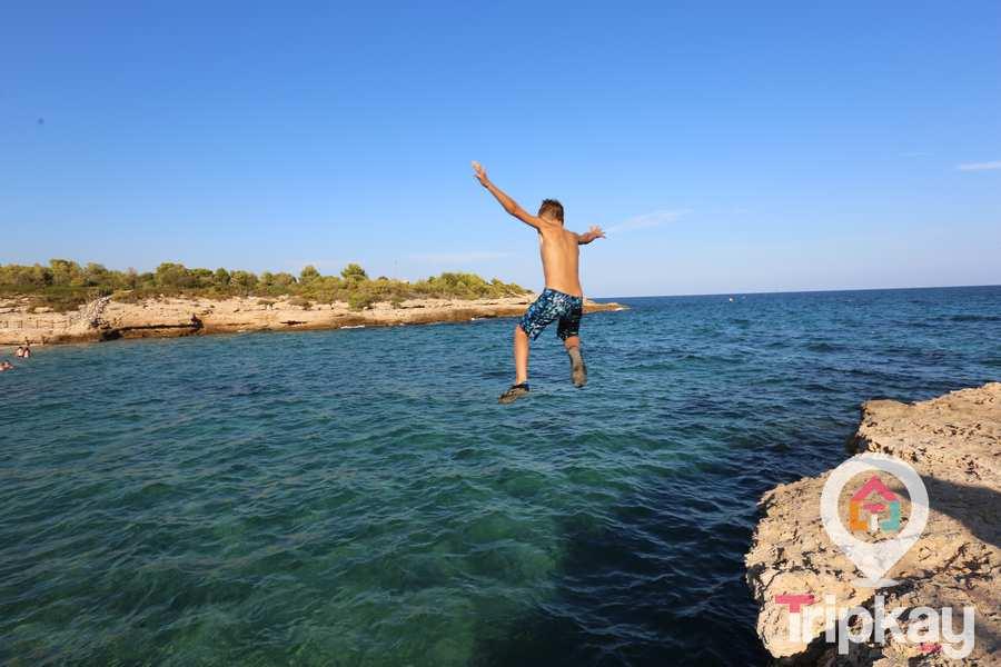 Cala Vidren en Ametlla de Mar