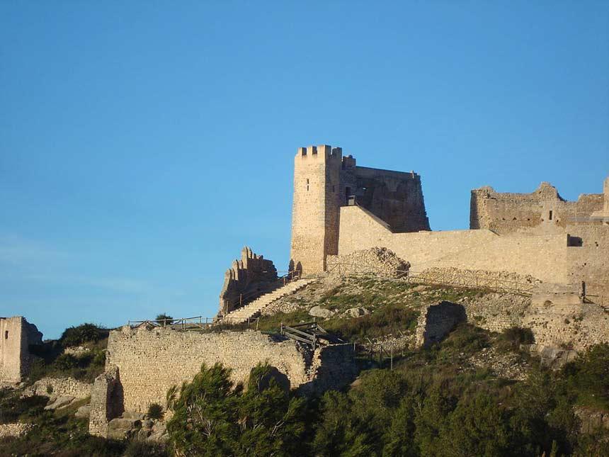 murallas del castillo de Xivert