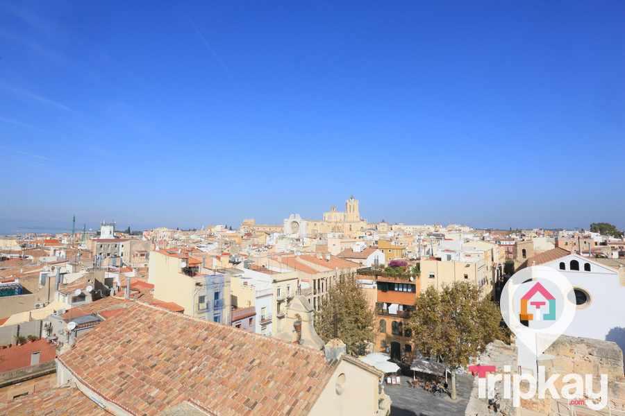 vista de el casco antiguo de Tarragona
