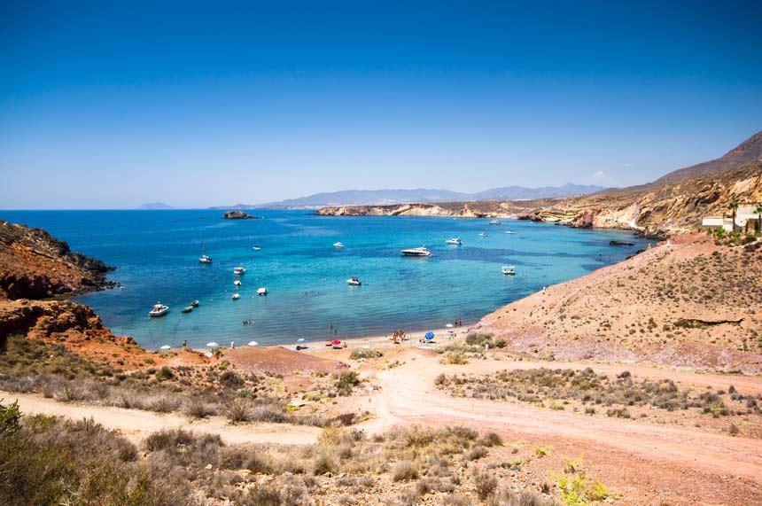 Playa-Bolnuevo-en-Mazarron