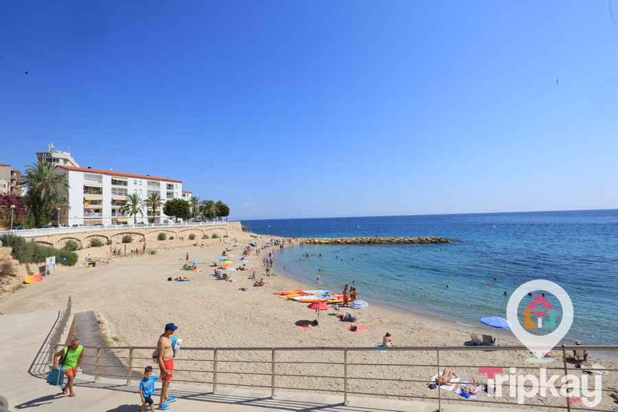 Playa alguer acceso a la playa