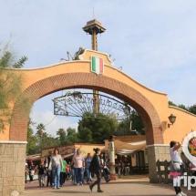 arco de entrada a Méxicon en portaventura