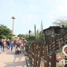 Calles del Far West en Port Aventura