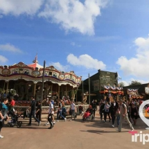 Calles en Far West en PortAventura