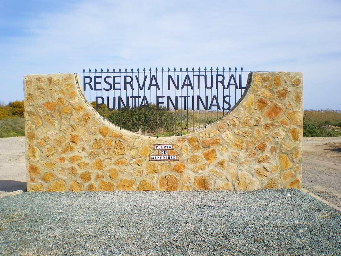 Puerta de Entrada al Paraje Natural Punta Entinas-Sabinar