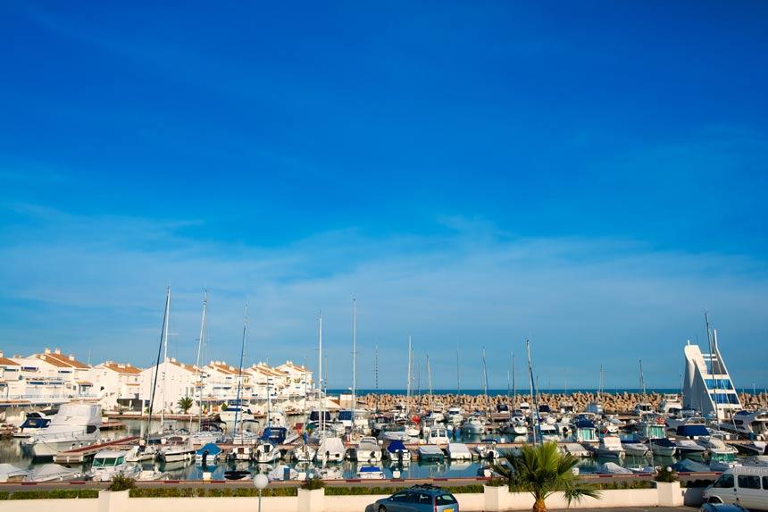 puerto de Alcocéber turismo en alcossebre