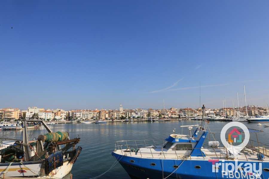 panoramica del puerto de cambrils
