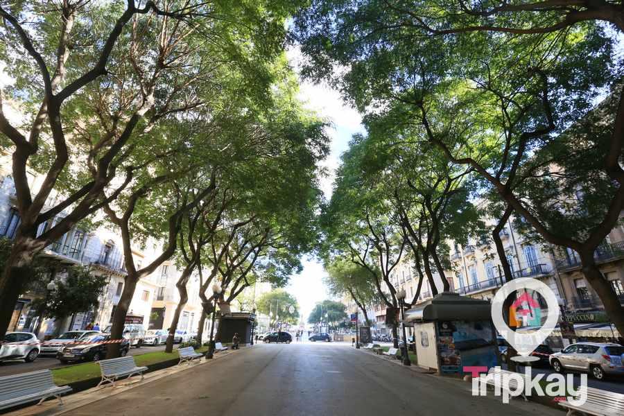 Rambla Nova de la Ciudad de Tarragona