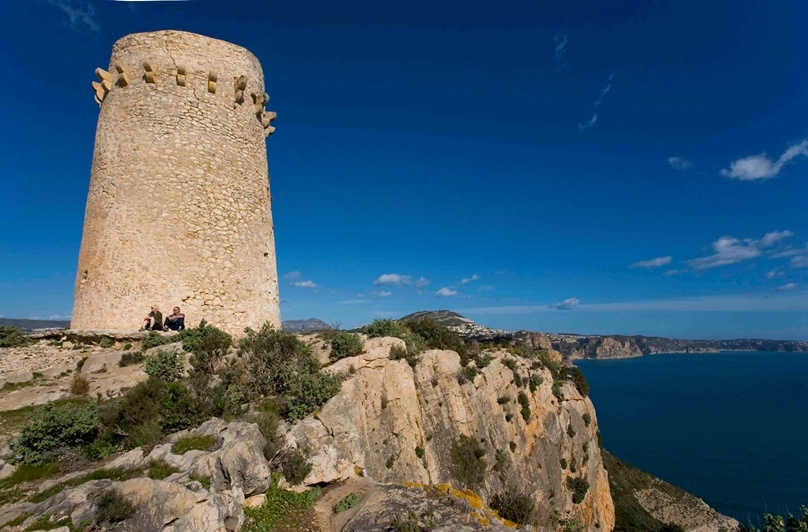 Cap d'Or watch tower , Moraira