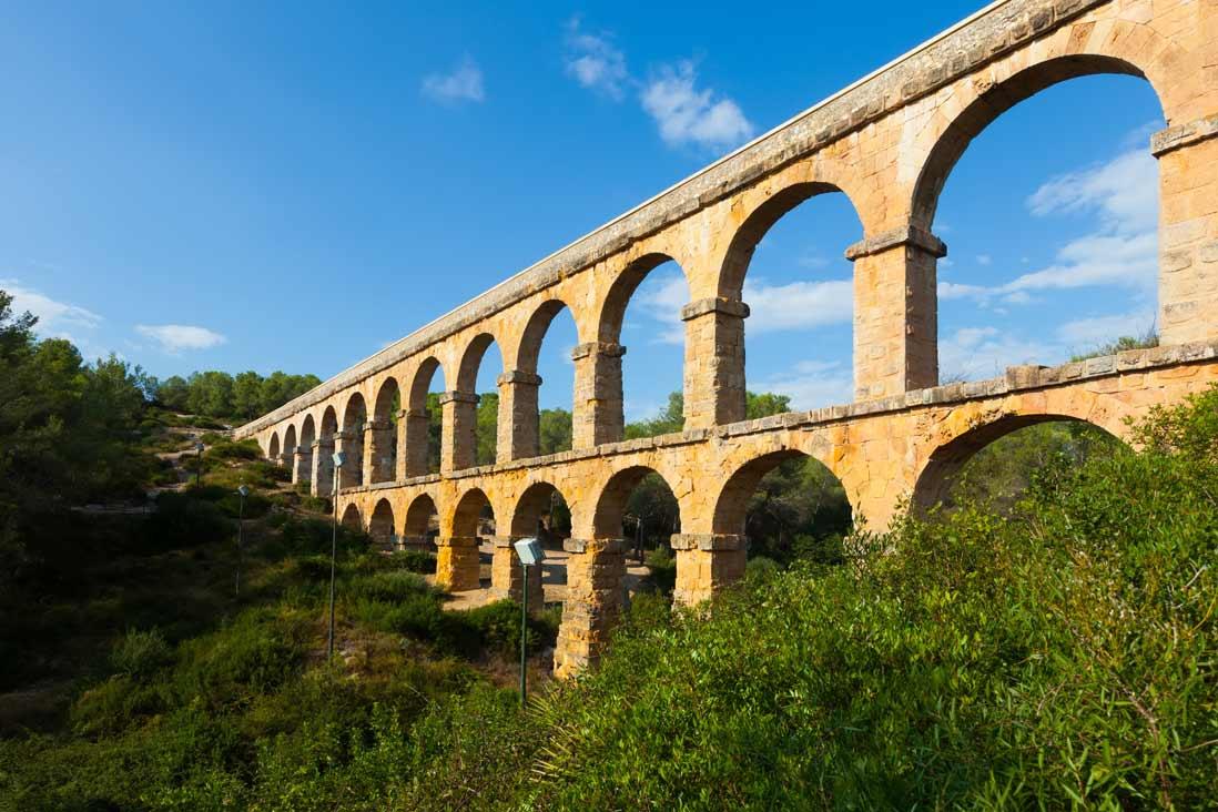 Tarragona Romana Puente del diablo