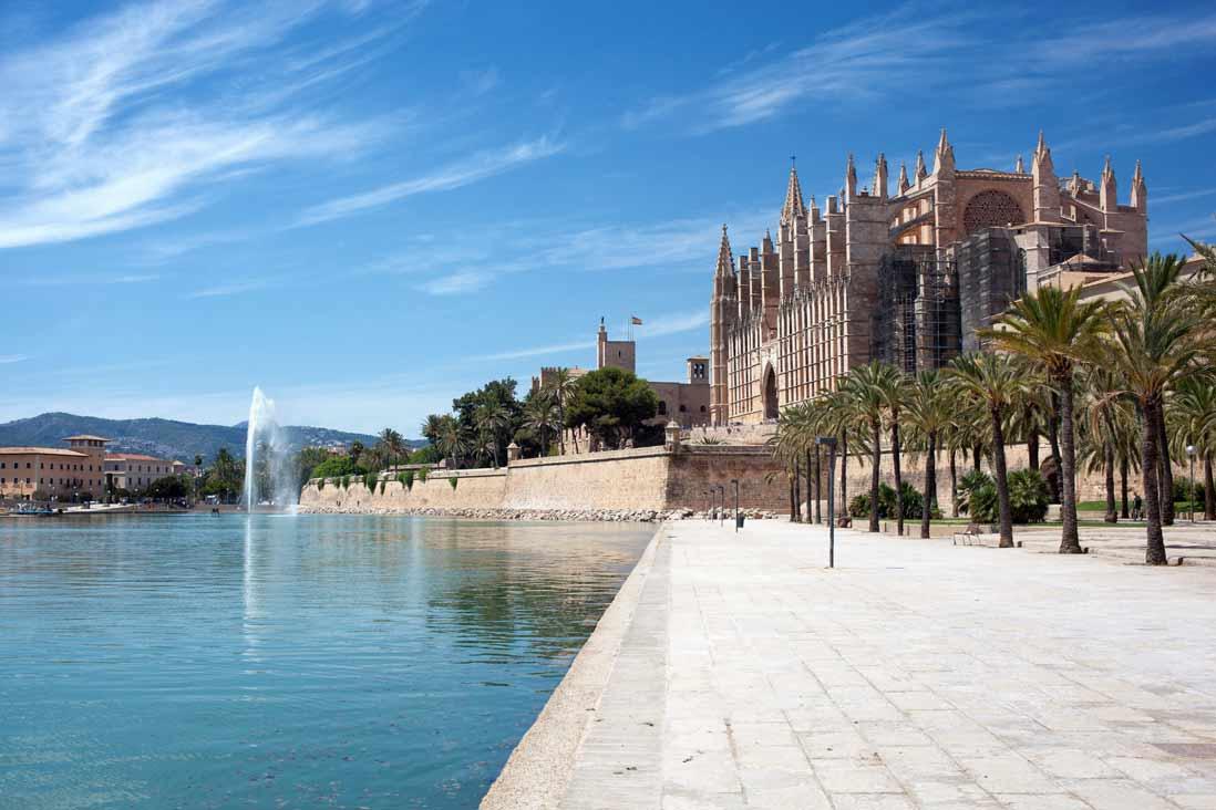 catedral-de-Mallorca-en-las-islas-baleares
