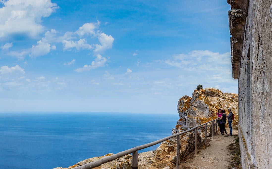 faro del parque natural de Sa Dragonera en Mallorca
