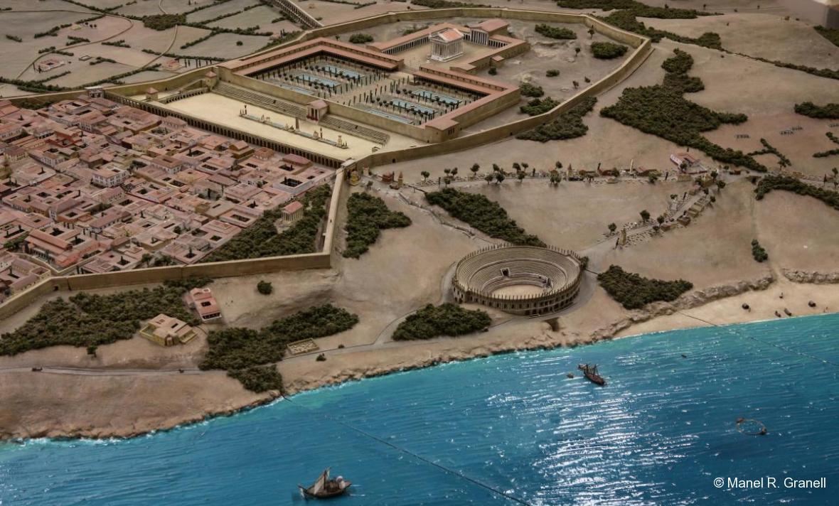 Imprescindibles de Tarragona maqueta tarraco romana