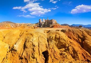 mina abandonada de Mazarron
