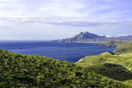 vista panoramica Parque Natural de Cabo de Gata-Nijaren ALmeria