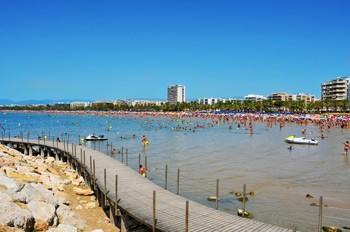 vista panoramica de la Playa de Levante de Salou