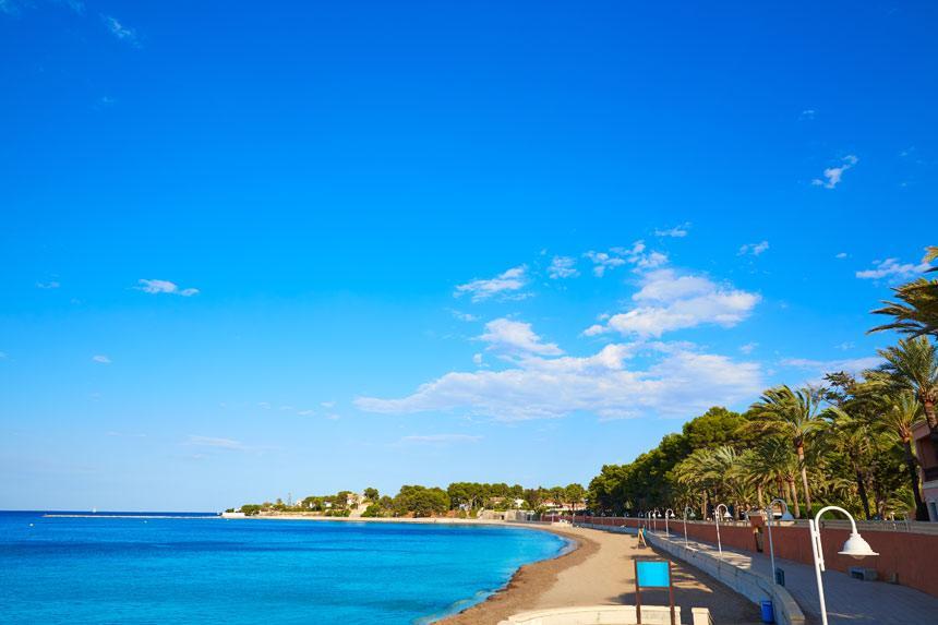 Playa la Marineta Casiana Denia
