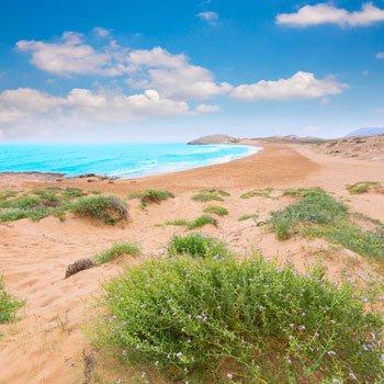 playa-calblanque-en la manga del mar menor