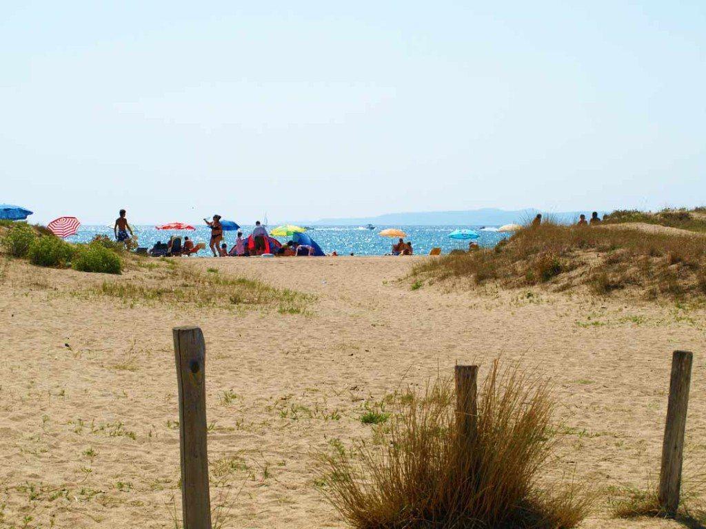 arenal de Playa Can Comes en empuriabrava
