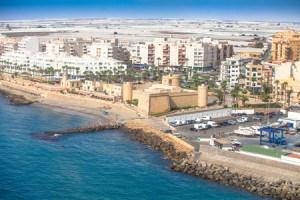 Imprescindibles de Roquetas de Mar panoramica roquetas de mar Almeria
