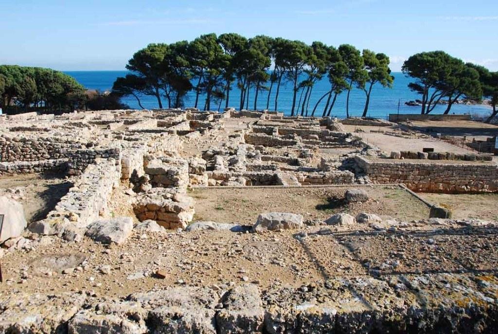 Imprescindibles en Empuriabrava ruinas romana en la costa brava