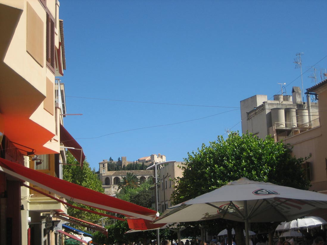 terrazas del municipio de Arta en Mallorca