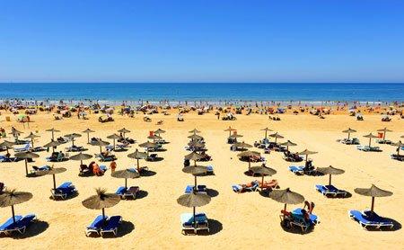 Aereal-view-La-Victoria-beach-in-Cadiz