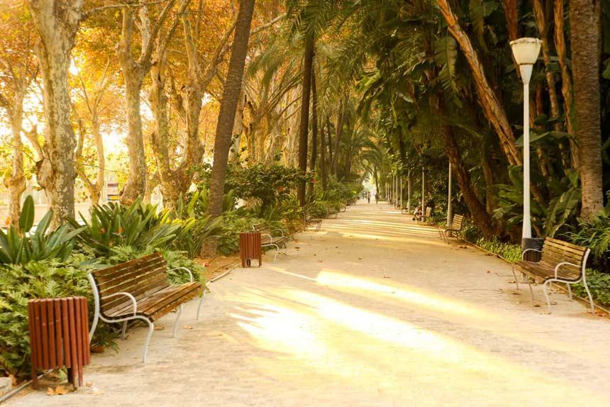 Alameda-Park-in-Malaga-city