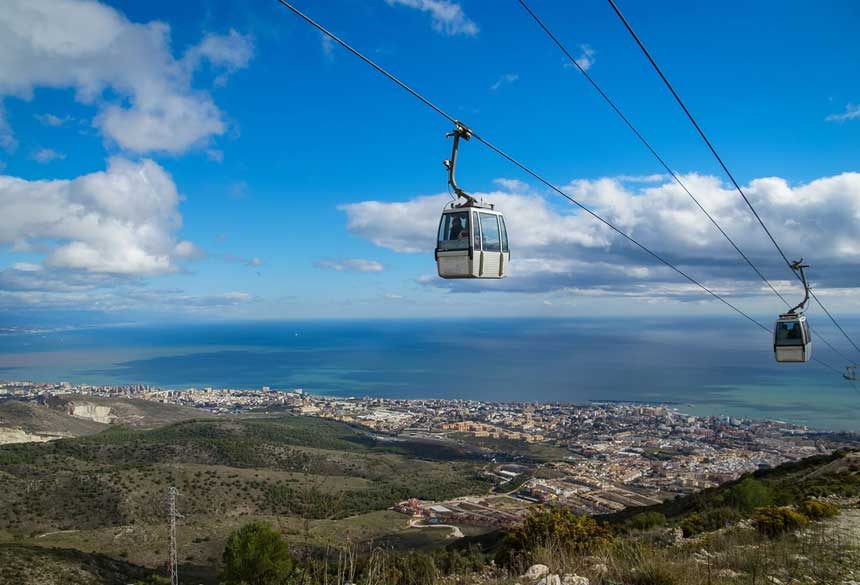Benalmádena Cable Car: Best things to do in Costa del Sol ...