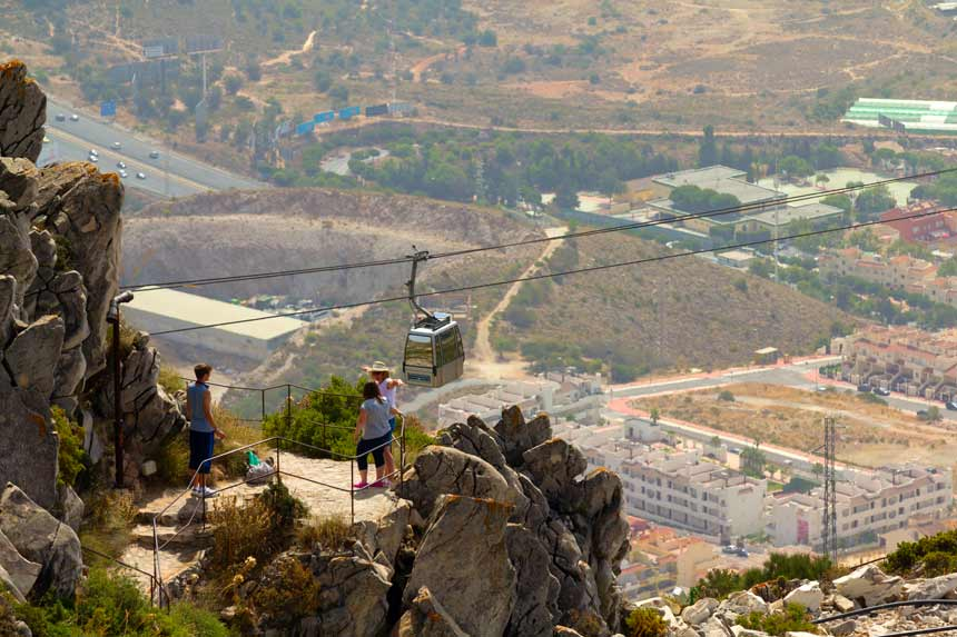 Benalm 225 Dena Cable Car Best Things To Do In Costa Del Sol