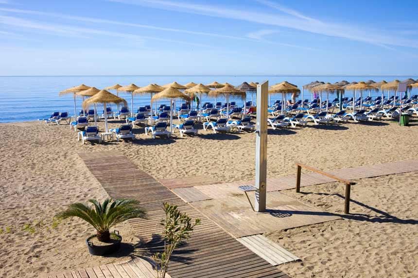 Bounty Beach in Marbella