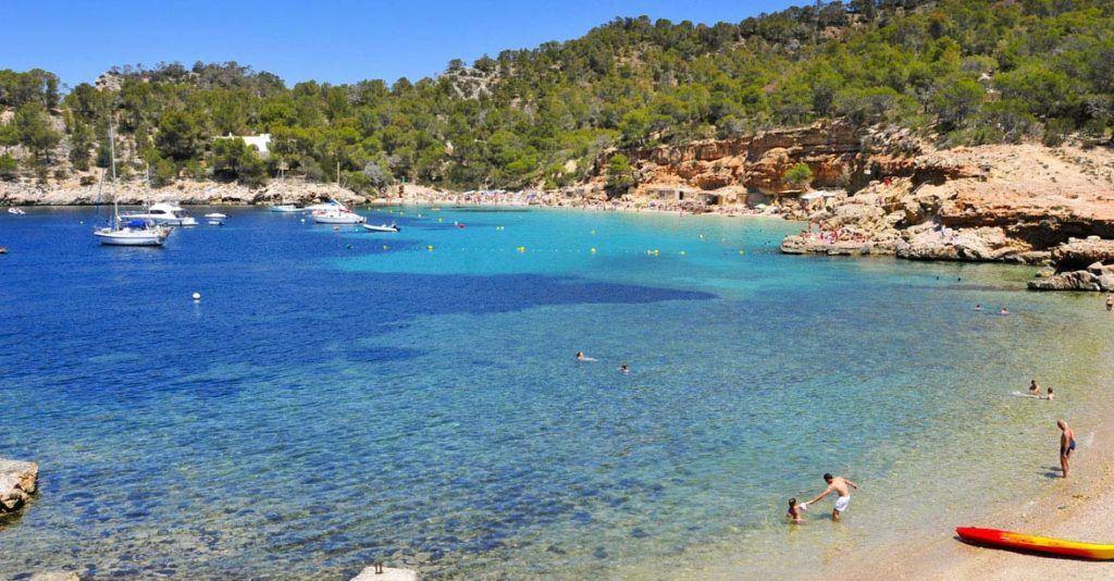 Cala-Salada-beach-in-Sant-Antoni