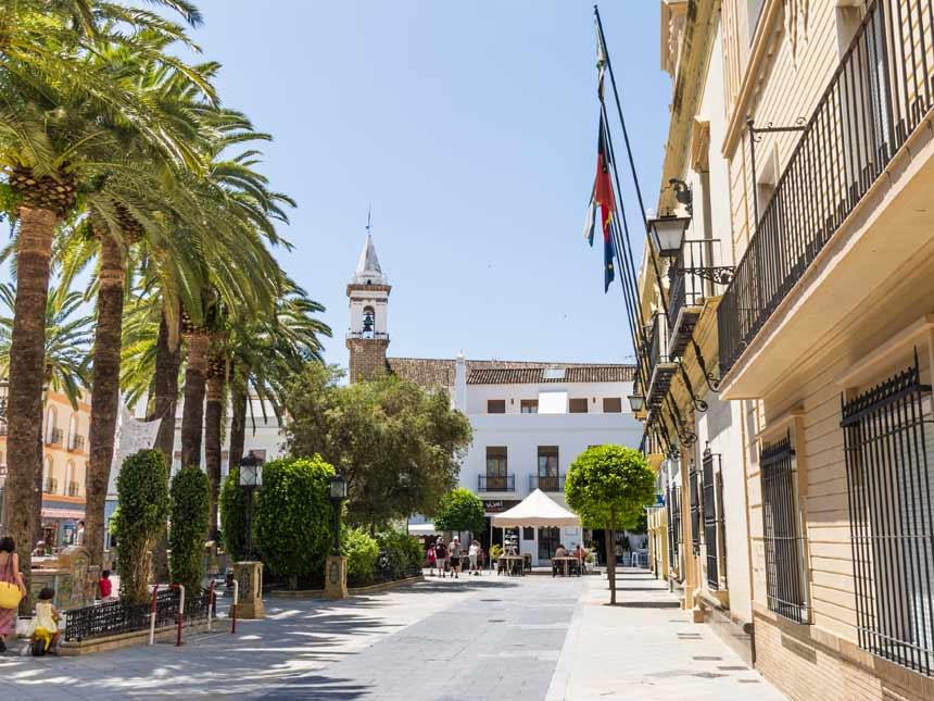 centro de Ayamonte en Huelva