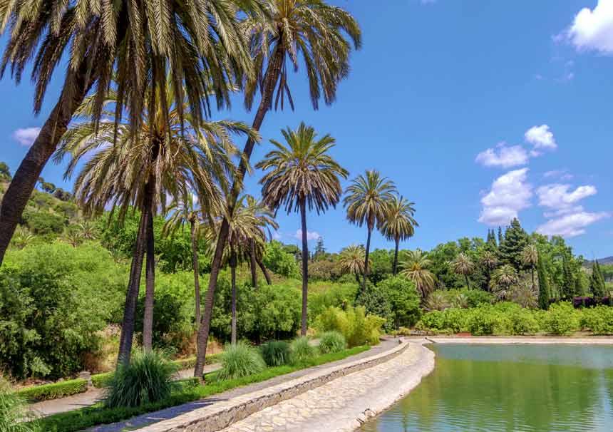 Jardin botanico La Concepcion en Malaga