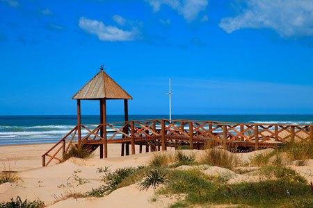 Cortadura-beach,-Cadiz,-Costa-de-la-Luz