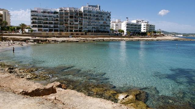 Playa Es Caló des Moro Ibiza
