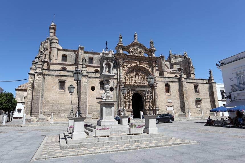 Iglesia-Mayor-Puerto-de-Santa-Maria,-Cadiz
