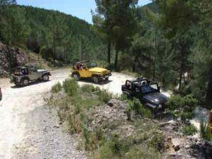 Jeep trip in Ibiza