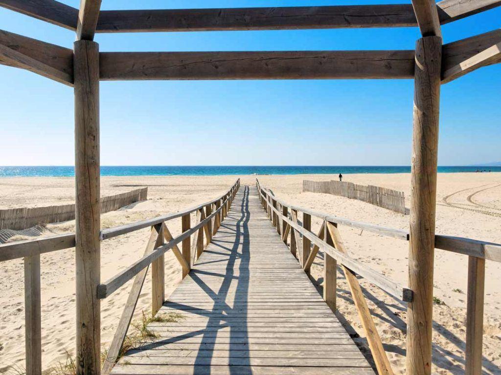 Los Lnaces beach in Tarifa
