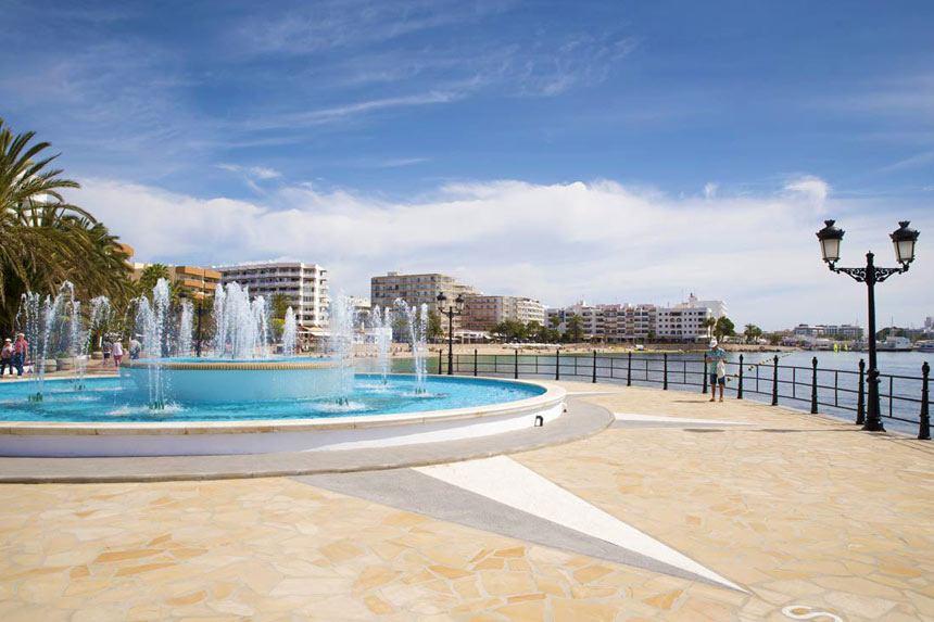 Main-promenade-Sant-Eulalia-del-Rio-in-Ibiza