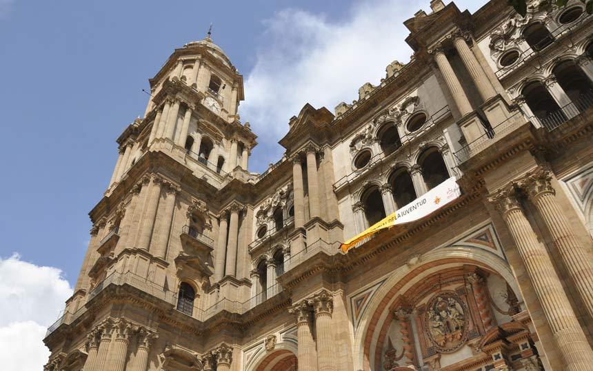 Malaga Cathedral , La Manquita