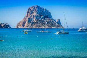 Big mountain Es Vendrá in Ibiza