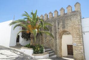 Old walls in Vejer de la Frontera