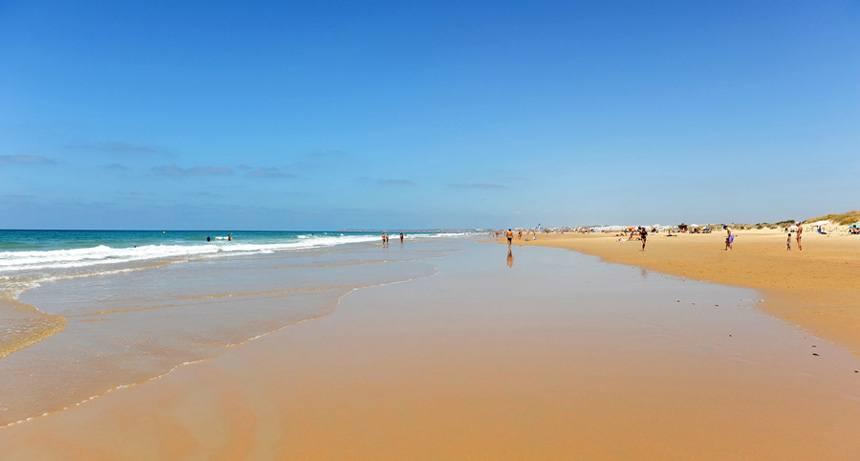 Palmar beach in Vejer de la Frontera