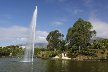 Beautifull parks in Paloma Park in Benalmadena (4)